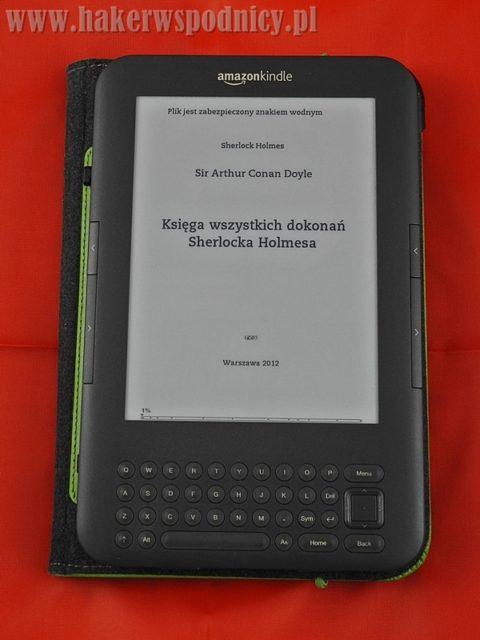 Czytnik Kindle w okładce