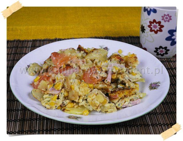 Omlet w stylu hiszpańskim