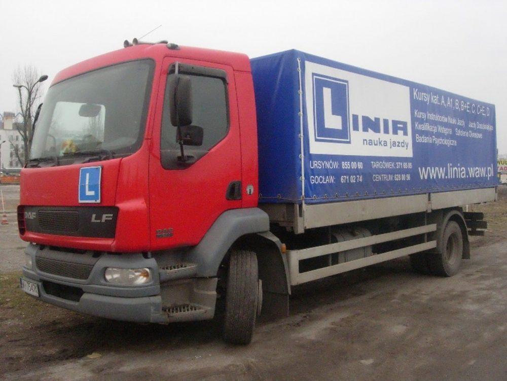Ciężarówka DAF LF