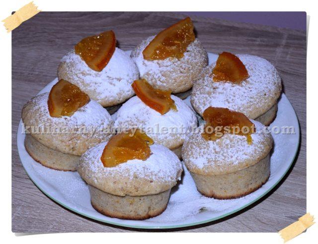 Babeczki pomarańczowe