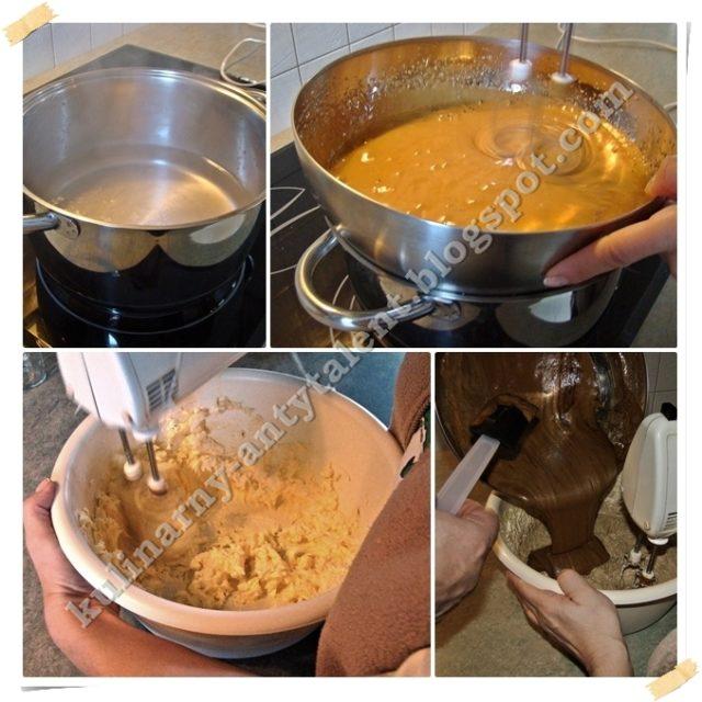 Tort kawowy - przygotowanie kremu