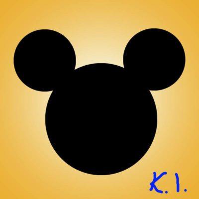 Myszka Miki narysowana wprogramie Photopea